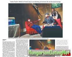 """Picture by Russian Drama """"Marriage Proposal"""" News coverage"""
